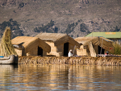 Titikaka See Peru