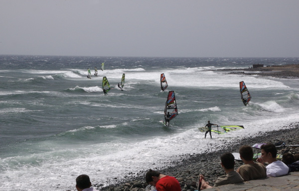Windsurfen in Pozo Izquierdo